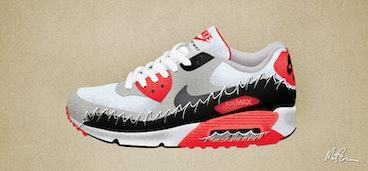 Nike Air Max 2 Illustration