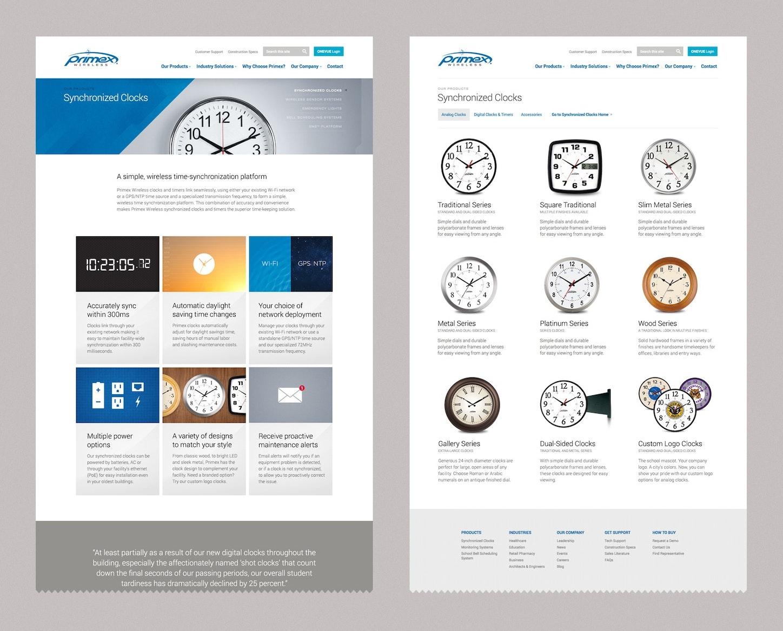 Primex Website Design