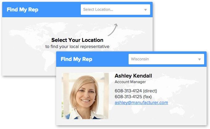 Standard Imaging Sales Rep Finder