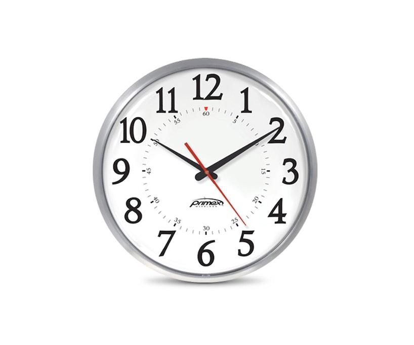 Primex Slim Metal Clock